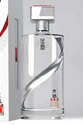 晶白玻璃瓶-003