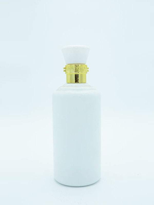 乳白瓶 083