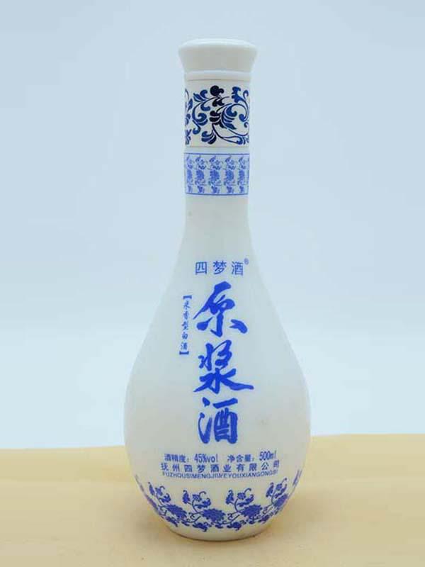 乳白瓶 089